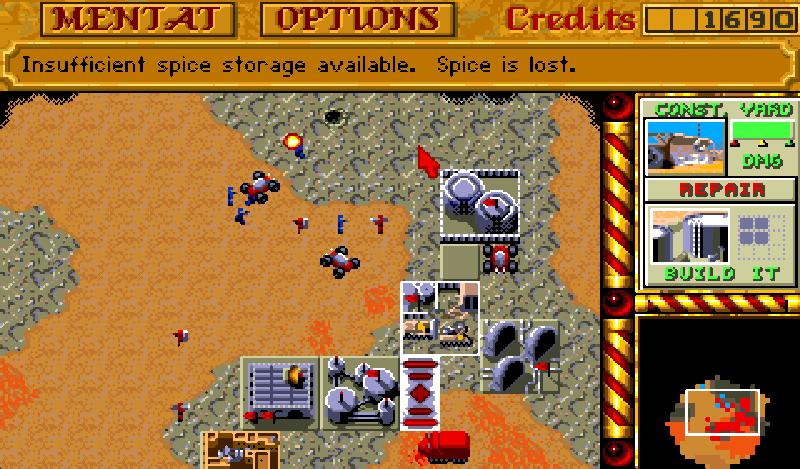 Dune II: The Battle For Arrakis - The