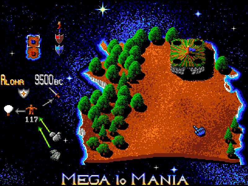 Mega Lo Mania - The Company - Classic Amiga Games