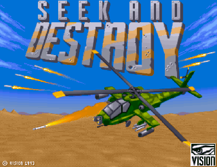 Seek And Destroy - The Company - Classic Amiga Games