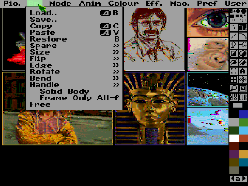 Deluxe Paint 5 2 - The Company - Classic Amiga Games