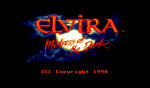 Elvira: Mistress Of The Dark - Amiga