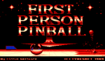 First Person Pinball - Amiga