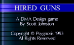 Hired Guns - Screenshot