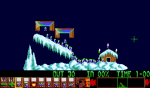 New Year Lemmings 1991-92 - Screenshot