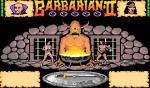 Barbarian II: The Dungeon Of Drax - Screenshot