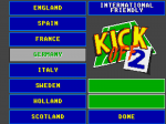 Kick Off 2: Competition Version - Screenshot