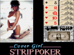 Cover Girl Strip Poker - Screenshot
