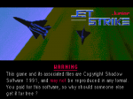 Jetstrike Junior - Amiga