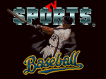 TV Sports: Baseball - Screenshot