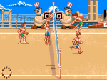 Beach Volley - Screenshot