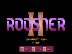 Rooster II - Screenshot