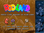 Rod-Land - Screenshot