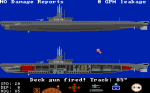 Silent Service: The Submarine Simulation - Amiga